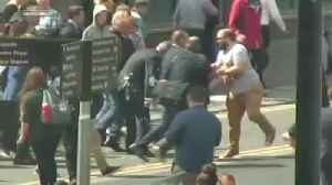 Man who threw milkshake at Farage ordered to pay him £350 [Video]