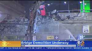 LAX Bridge Demolished To Make Way For People Mover [Video]
