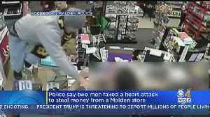Suspect Faked Heart Attack During Malden Convenience Store Robbery [Video]