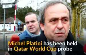 Ex-UEFA head Platini detained in Qatar World Cup probe [Video]