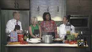 Previewing The Food At 'Taste Of Jazz' [Video]