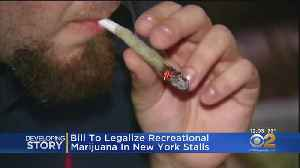 New York Marijuana Legalization: Bill Stalls In Legislature [Video]