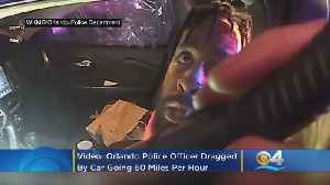 VIDEO: Orlando Police Office Dragged By Car Going 60 MPH While Hanging Out Window [Video]