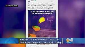 Taco Bell Giving Away Free Tacos Tuesday [Video]
