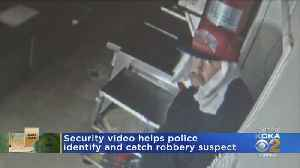 Feed Mill Restaurant Burglar In Custody [Video]