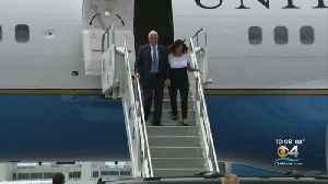 Vice President Mike Pence Arrives In Miami To Help Send Off Navy Ship [Video]