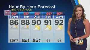 Steamy Day, Temps In The Mid-90s By Afternoon [Video]