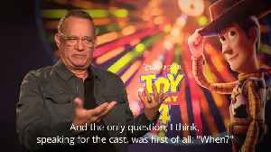Toy Story 4: Tom Hanks 'fortunate to have been smart enough' to say yes to Woody [Video]