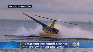 PHOTOS: Sightseeing Helicopter Crashes Into Water Off Key West [Video]