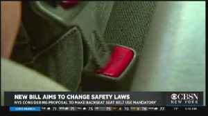 New York State May Pass Law Requiring Back Seat Passengers To Buckle Up [Video]