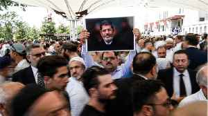 Thousands Of Muslim Brotherhood Supporters Mourn Egypt's Mursi In Turkey