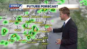 Slight chance of showers Tuesday night [Video]