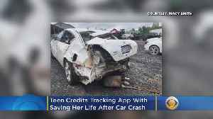 Teen Credits Bible, Tracking App For Surviving Car Crash [Video]