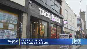 News video: Free Taco Bell Tacos