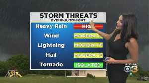 Weather Update: Severe Thunderstorm Watch [Video]
