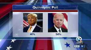 New Quinnipiac poll shows Joe Biden and other top Dems beating President Trump in Florida [Video]
