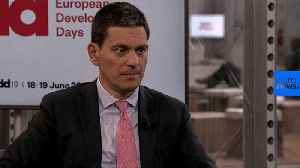'Europe has got to catch up' on refugee policy: IRC president [Video]