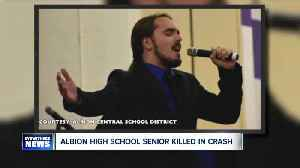 Albion high school senior killed in crash [Video]