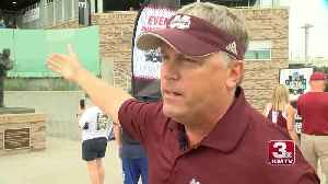Mississippi State viral CWS fan Terry Powell returns to Omaha [Video]