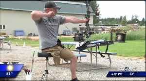 Local injured Army vet heading to Warrior Games in Tampa [Video]