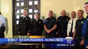 First responders crew honored for rescue of Concow woman during the Camp Fire [Video]