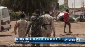 Sudan crisis being felt in Rochester [Video]