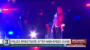 Police investigate after high-speed chase [Video]