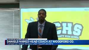 Erik Daniels officially announced as Woodford Co. Girl's Basketball Coach [Video]
