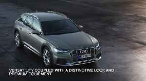 20 years of A6 Avant with offroad qualities - the new Audi A6 allroad quattro [Video]