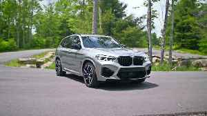 The new BMW X3 M Design Exterior in New York, USA [Video]