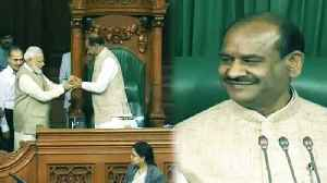 News video: Om Birla becomes Lok Sabha Speaker, PM Modi leads him to Chair | Oneindia News