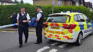 Police cordon off road in Barnet after stabbings leave 1 dead and 2 injured [Video]