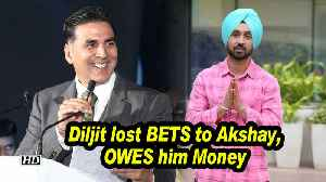 Diljit Dosanjh lost BETS to Akshay Kumar, OWES him Money [Video]