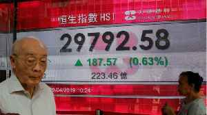 Asia Stocks Way Up On China Hopes [Video]