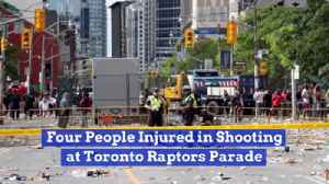There Was A Shooting At The Toronto Raptors Win Parade [Video]