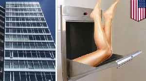 Woman trashed apartment before falling 16-stories down trash chute [Video]