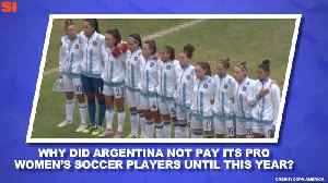 World Cup Daily: Players Fight For Professional Status, Payment in Argentina [Video]