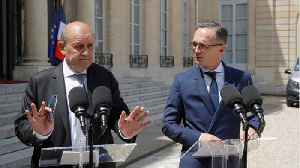 France, Germany to increase efforts to reduce Iran tensions, avert war: ministers [Video]