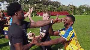 Michigan Wolverines learn rugby secrets from the Springboks [Video]