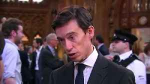 News video: Rory Stewart on being eliminated from leadership race