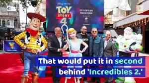 'Toy Story 4' Looking at $140 Million Opening [Video]