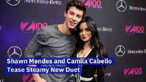 Shawn Mendes and Camila Cabello Tease Steamy New Duet [Video]