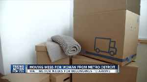 Woman from metro Detroit waits weeks for belongings to arrive [Video]