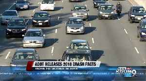 ADOT Report: Total crashes up, fatalities down in 2018 [Video]