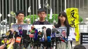 News video: Hong Kong leader says sorry again, protesters reject apology