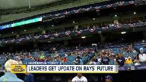 Hillsborough leaders to discuss Tampa Bay Rays' future [Video]