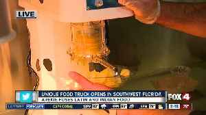 New food truck first to combine Latin and Indian flavors [Video]