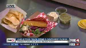 New food truck combines Latin and Indian flavors [Video]