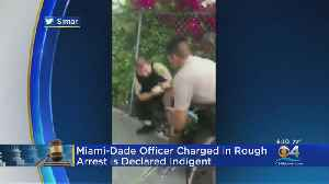 Police Officer Charged With Rough Declared Indigent [Video]