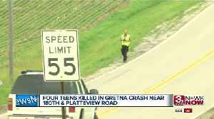 Four Teens Killed in Gretna Near 180th and Platteview Road [Video]